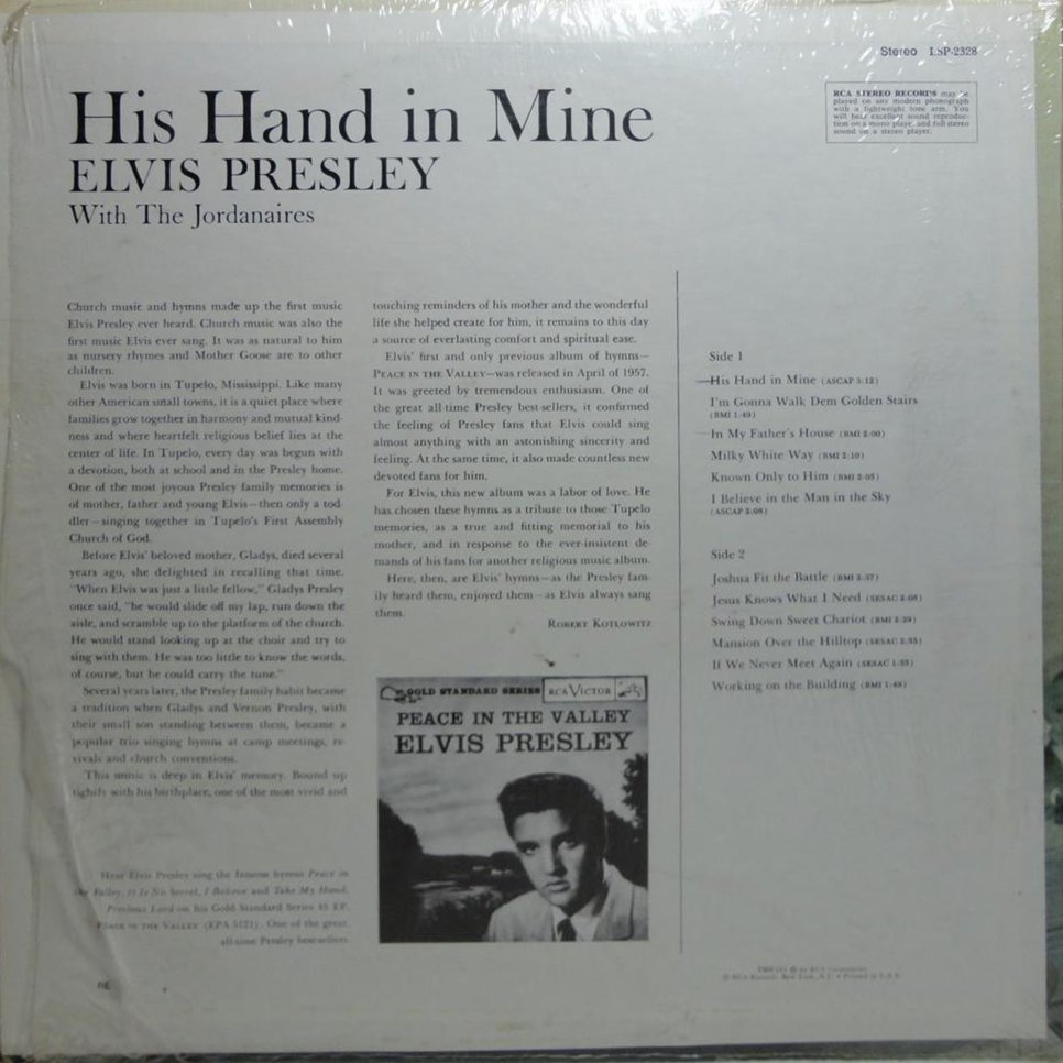 HIS HAND IN MINE Lsp-2328bsgylq