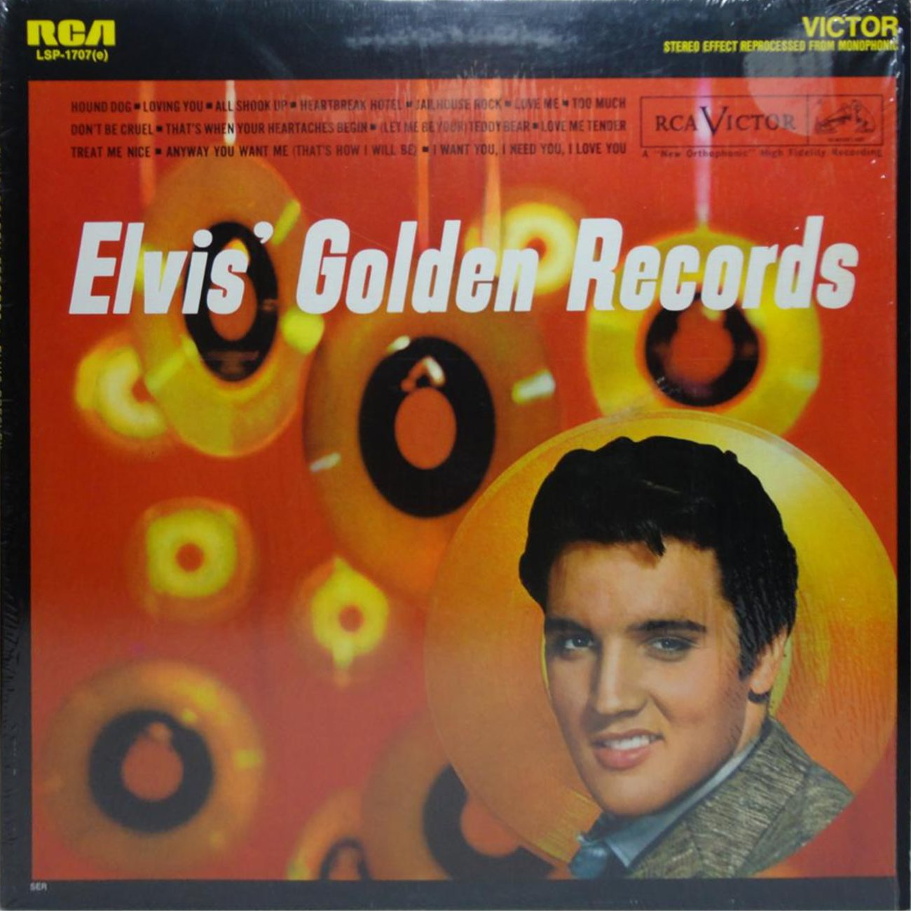 ELVIS' GOLD RECORDS  Lsp1707as8kcm
