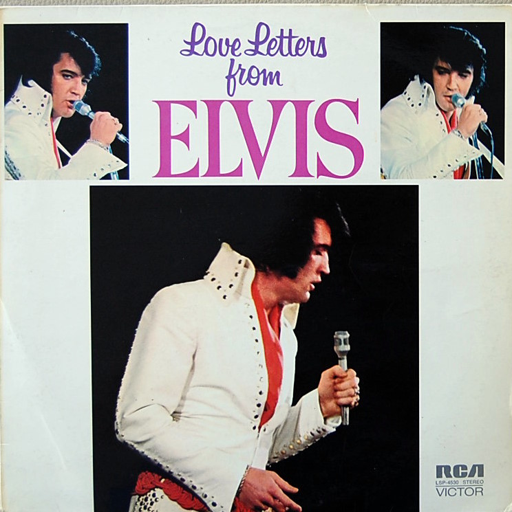 LOVE LETTERS FROM ELVIS Lsp4530-1xxf3g