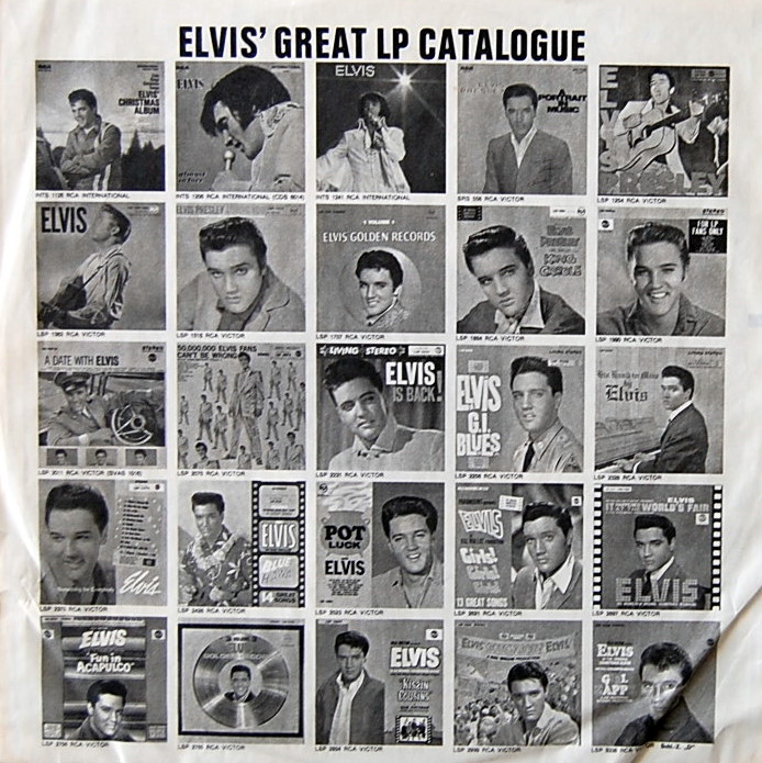 LOVE LETTERS FROM ELVIS Lsp4530-6hsi5k