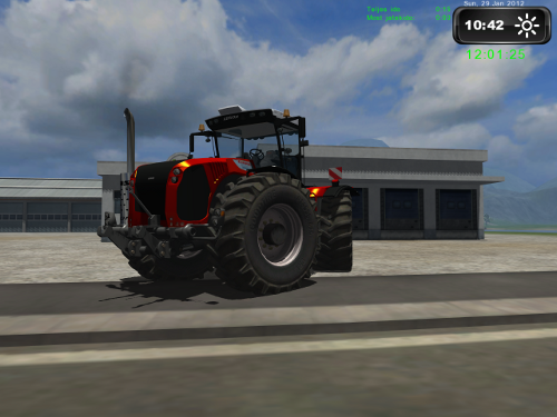 Claas Xerion 5000 Red Gold