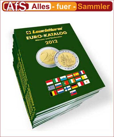 Leuchtturm Euromünzen Katalog 2012