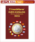 Leuchtturm Euromünzen Katalog 2005 REDUZIERT !