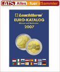 Leuchtturm Euromünzen Katalog 2007 REDUZIERT !