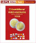 Leuchtturm Euromünzen Katalog 2008 REDUZIERT !