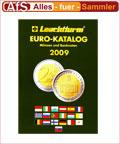 Leuchtturm Euromünzen Katalog 2009 mit SLOWAKEI