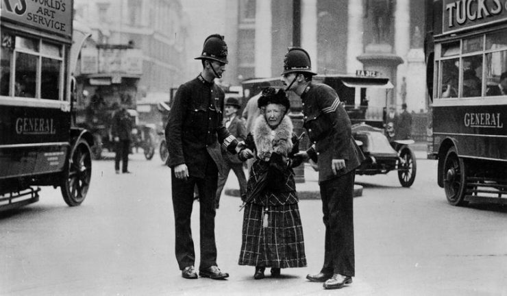 Policja w ubiegłym wieku 2
