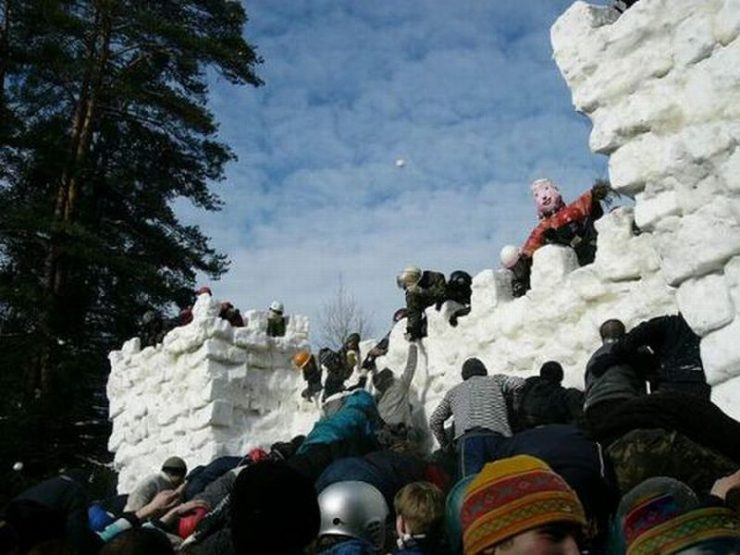 Śniegowe budowle 41