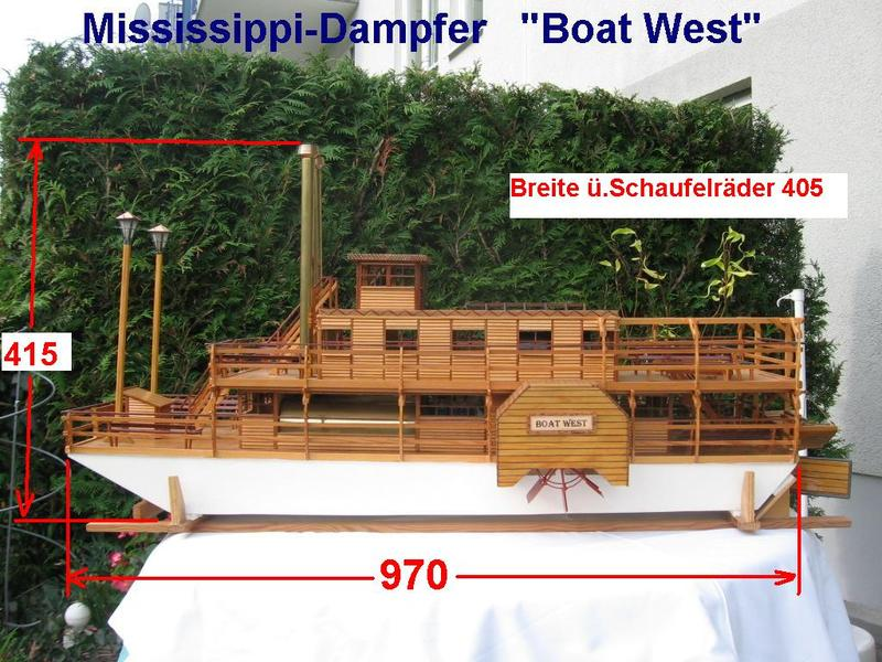 Boat West , Mississippi M132okx