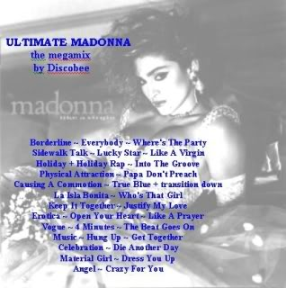 "DJ Discobee's-The ""Ultimate Madonna"" Megamix"
