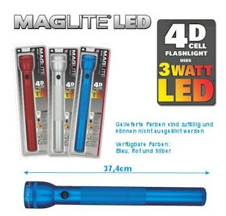 Mag-Lite 4D-Cell LED