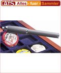 Leuchtturm Kugelschreiber mit Magnetkappe NEU !