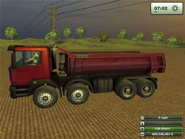 MAN Dump Truck v 1.0