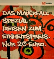Mauerfall Spezial Bahn