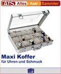 """266-2 SAFE Alu-Koffer für Uhren und Schmuck """"Maxi"""""""