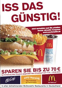 Mcdonalds coupons schweiz