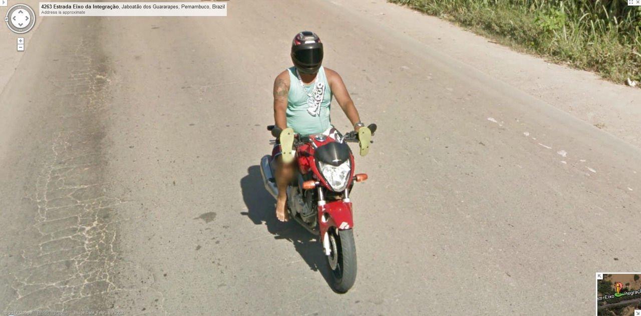 Nietypowe sceny z Google Street View #3 23