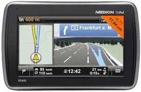 MEDION E5455 Navigation