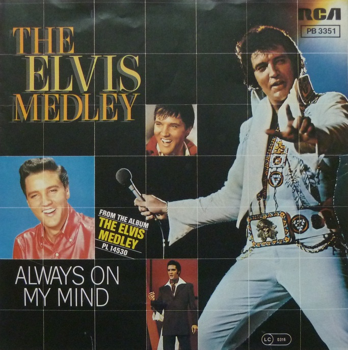 The Elvis Medley / Always On My Mind Medleyfront1bued