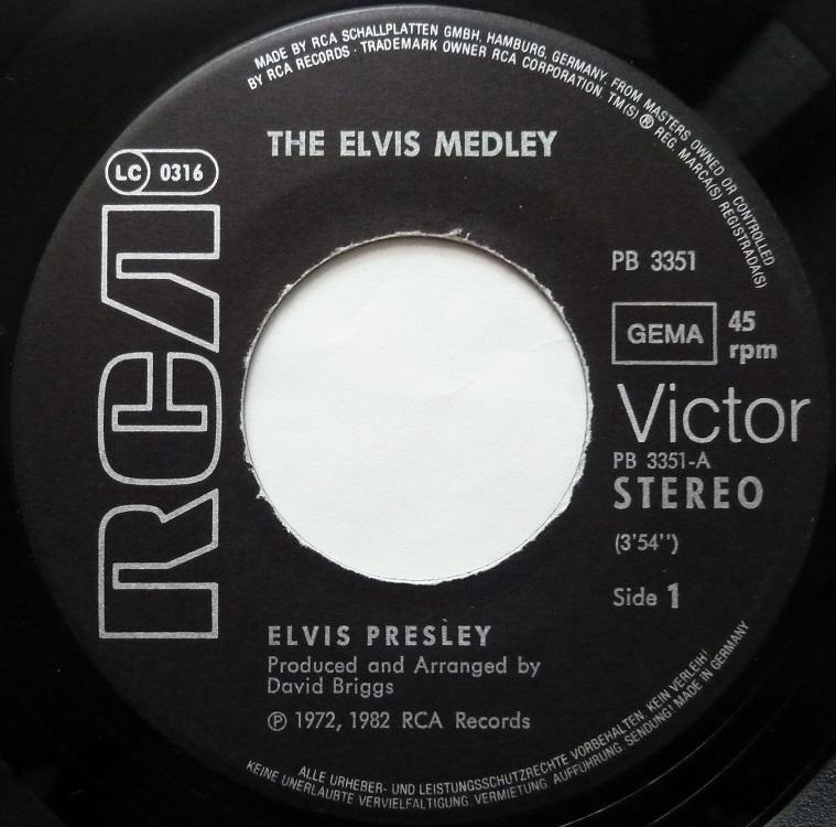 The Elvis Medley / Always On My Mind Medleyside1x7u90
