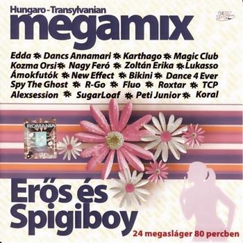 Eros és Spigiboy - Hungaro-Transylvanian Megamix Megamix2007frontc0uza