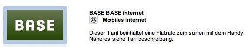 Mein Base Internet kostenlos