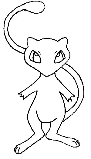 Pokemon Coloring Pages Of Meo