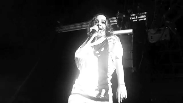 Alizée in concert in Mexico
