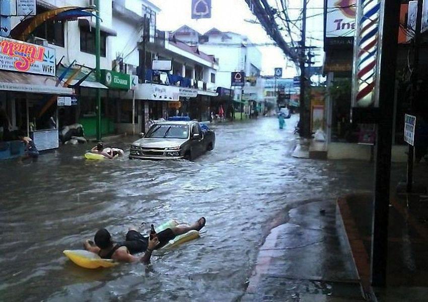 Miasta w czasie powodzi 1