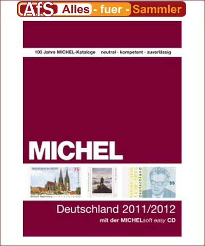 MICHEL Deutschland-Katalog 2011/2012 inkl. CD-ROM