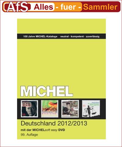 MICHEL Deutschland-Katalog 2012/2013 inkl. CD-ROM