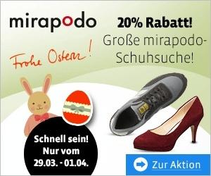 Mirapodo Oster Aktion