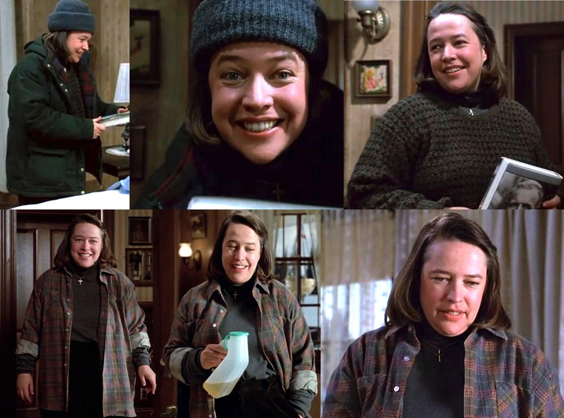 Kathy Bates en Misery (1990) de Rob Reiner