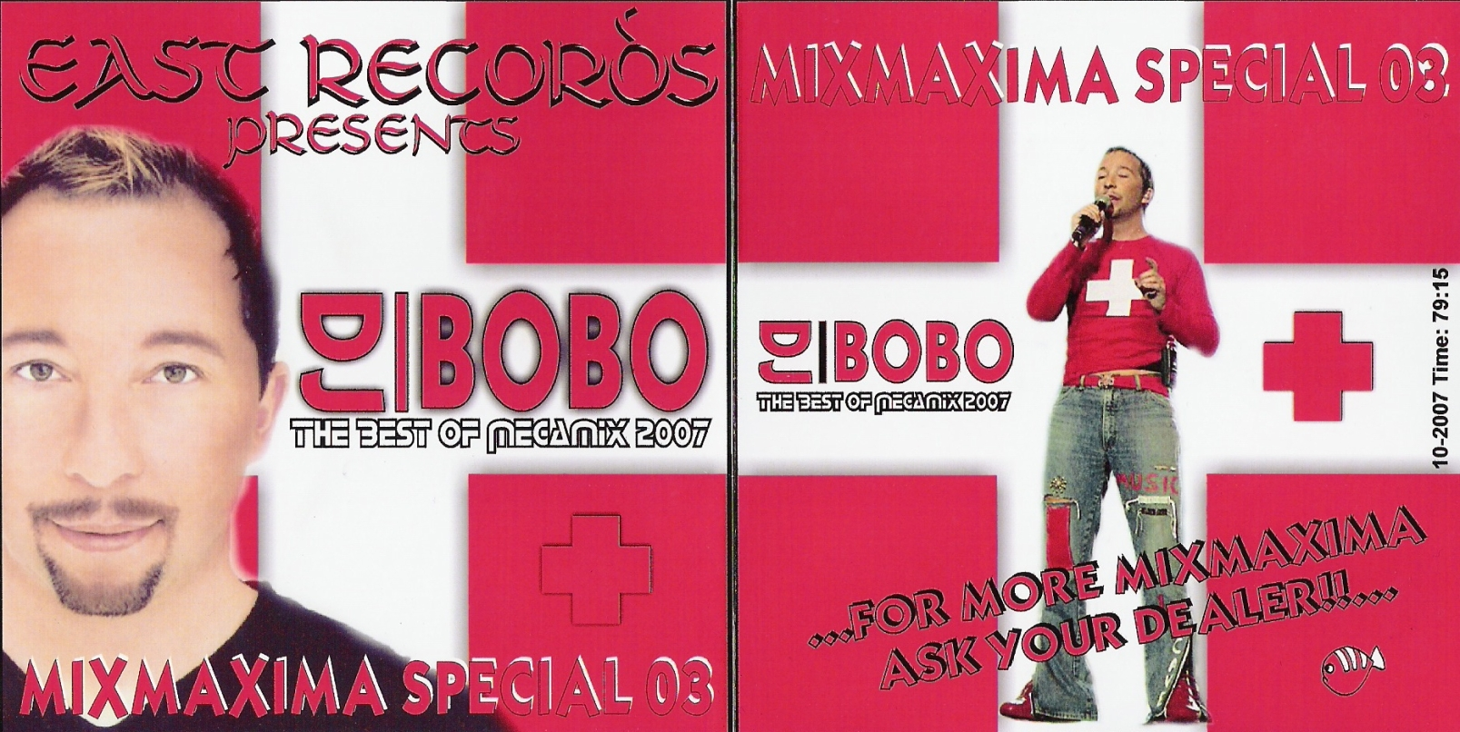 East Records Presents - Mixmaxima Special Dj Bobo 03