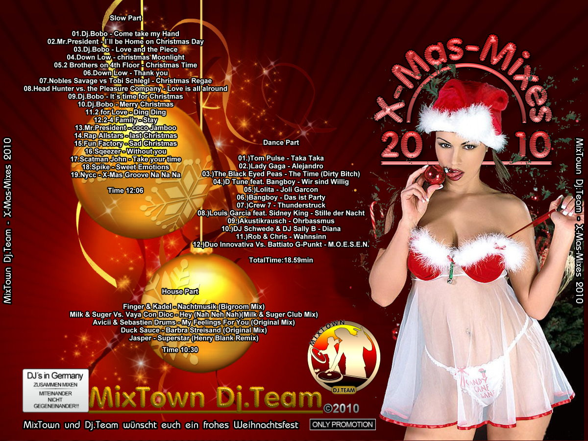 MixTown Dj.Team - X-Mas-Mixe 2010