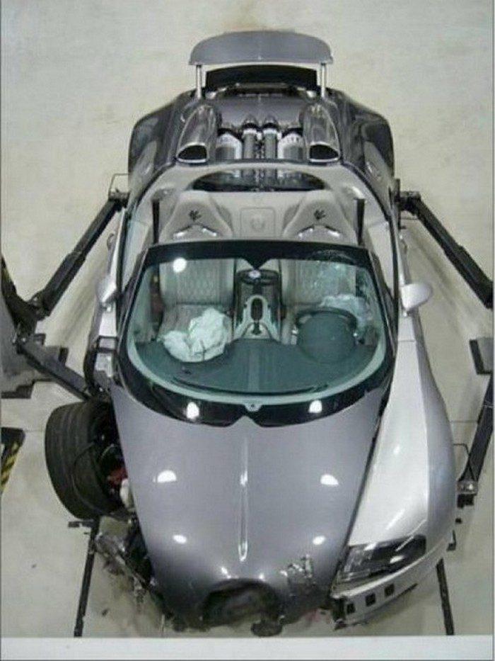 Wypadki najdroższych samochodów #2 2