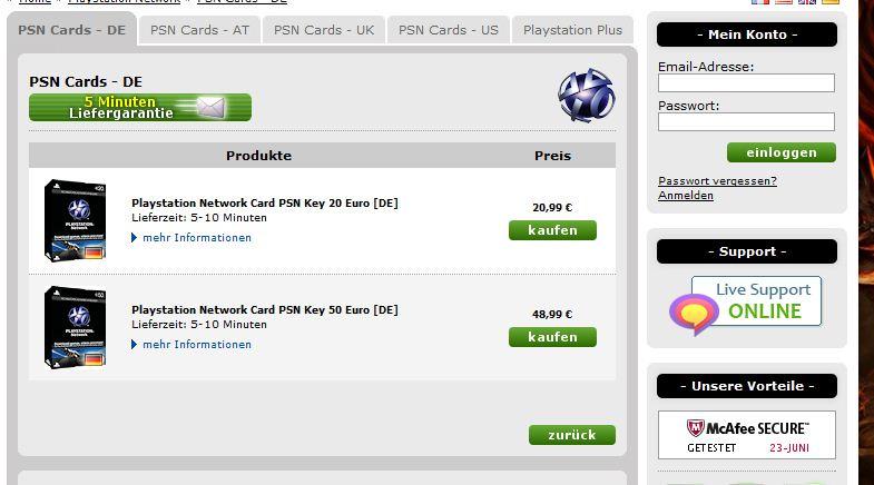 psn karte kaufen playstation store karte kaufen psn card 10 playstation network guthaben code kaufen. Black Bedroom Furniture Sets. Home Design Ideas