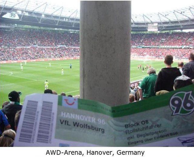 Najgorsze miejsca na stadionach 16