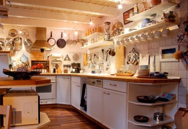 Pfannen Aufhängen great pfannen aufhängen küche images wohn essbereich offene kuche