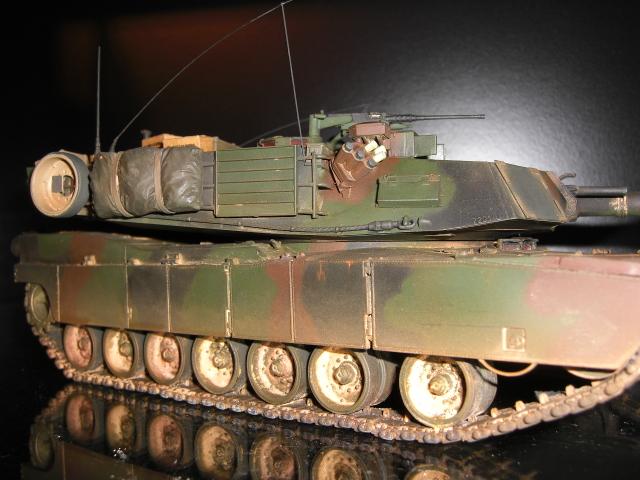 M1A1 AIM & M1A2 SEP Modellbau00768ss