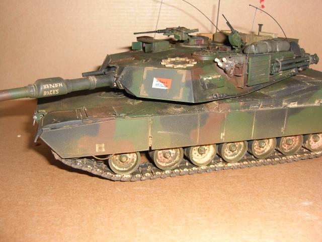 M1A1 AIM & M1A2 SEP Modellbau015h2no