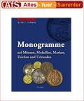 Battenberg Monogramme auf Münzen, Medaillen, Marken