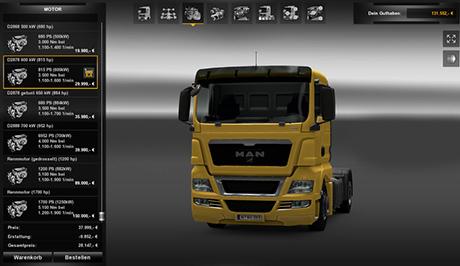 Moottoripaketti  Motoren-fur-man-truckoeukd
