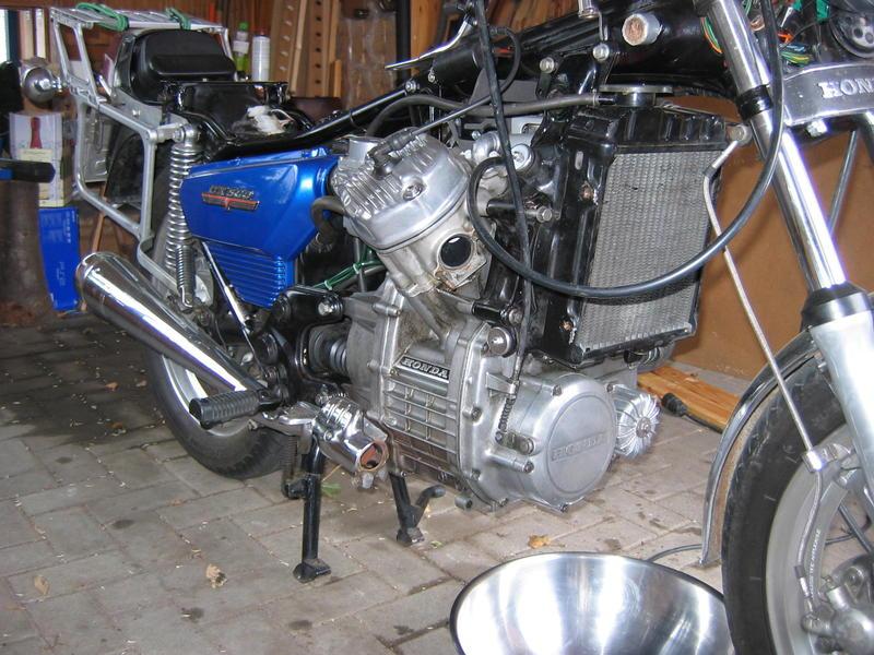 Zylinderkopfdichtung wechseln ohne Motorausbau Motorschutzbuegelab1scs2i