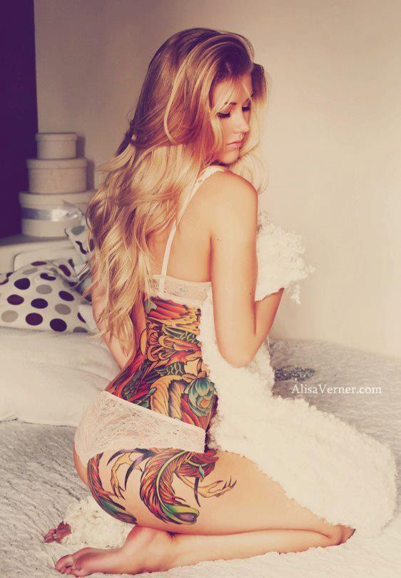 Dziewczyny z tatuażami #3 1