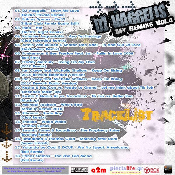 DJ Vaggelis - My Remixs Vol.4