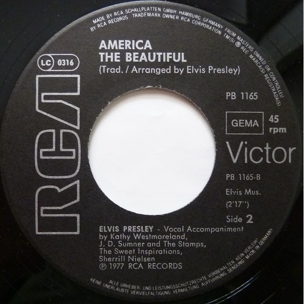 My Way / America (The Beautiful) Myway82side2h5uex