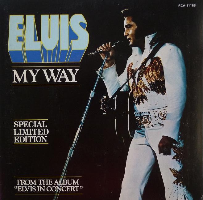 vinyl - My Way / America (Special Limited Edition - Red Vinyl) Mywaycanadafront70i19