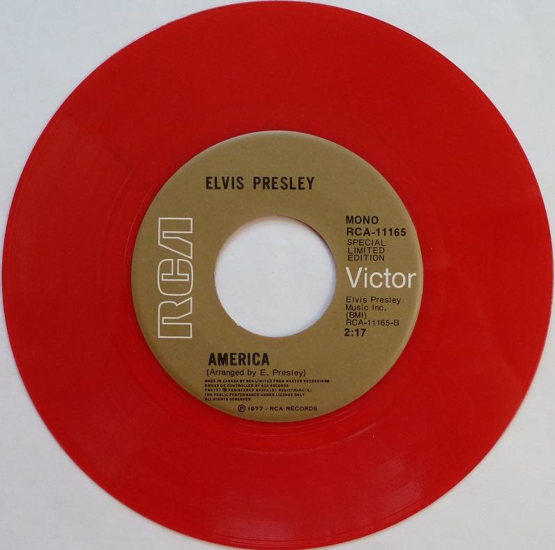 vinyl - My Way / America (Special Limited Edition - Red Vinyl) Mywaycanadaside2s4eey