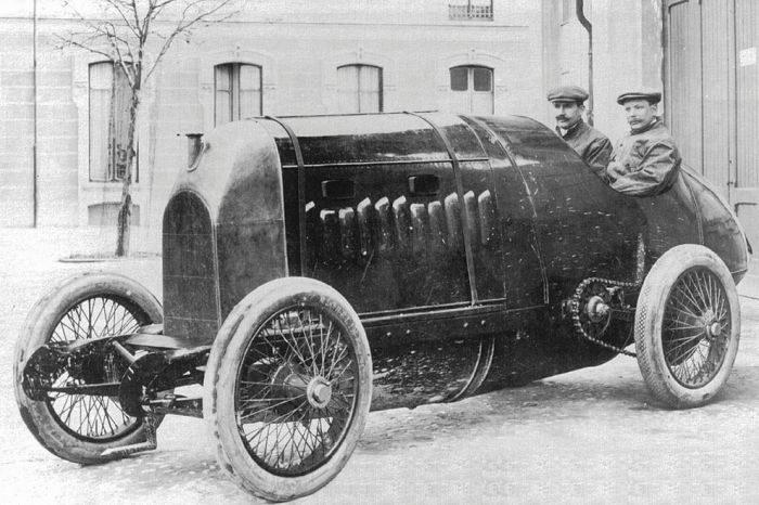 Pierwsze wyścigi samochodowe 12